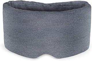 Sysrion アイマスク 滑らかなナイロンとふんわり純綿 ノーズカード付き 極上の肌触り 安眠可能 圧迫感なし 軽量 自由調整可能 収納便利
