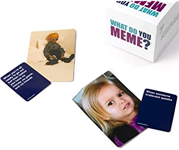 What Do You Meme? Core Game - The Hilarious Adult Party Game for Meme Lovers