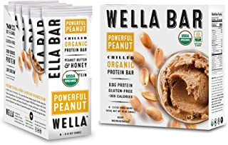 Wella Bar | Chilled Organic High Protein Bars | (Powerful Peanut)