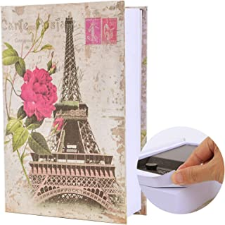 """KYODOLED Real Pages Book Safe with Combination Lock, Dictionary Diversion Safe Book,Secret Lock Box,Money Hidden Box,9.5"""" ..."""
