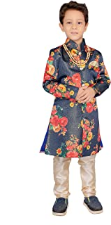 Festive & Wedding Purpose Full Sleev Kurta & Paijama Pant with Necklace(BT)