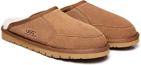 UGG Slippers Australian Soft Sheepskin Winter Home Cozy Men's Slipper Bred Shoes