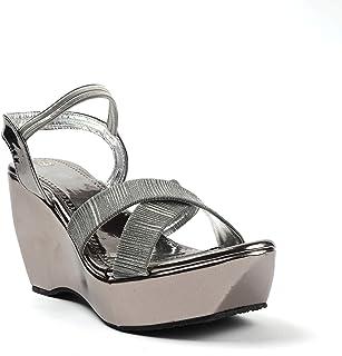 Heeltec Women Casual and Wedges Heel Sandals, Ideal for Women