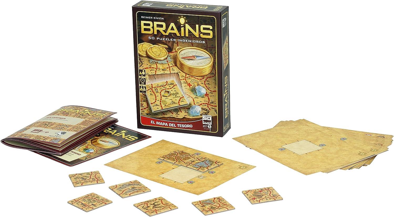 #Juegodemesa Brains: El mapa del tesoro por sólo 12,83€