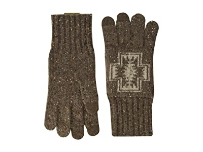 Pendleton Lambs Wool Gloves (Harding Brown) Dress Gloves