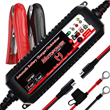 MOTOPOWER MP00207 6V / 12V 4AMP Automatic Smart Battery Charger Maintainer with Battery Repair Mode