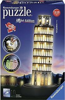 Ravensburger Pisa at Night 3D Puzzle 216pc,3D Puzzles