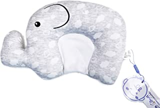 Jacky Newborn Baby Pillow for 0-12Month, Made of Memory Foam Can Support Head & Neck Pillow,Head Shaping Pillow,Heart Shaped
