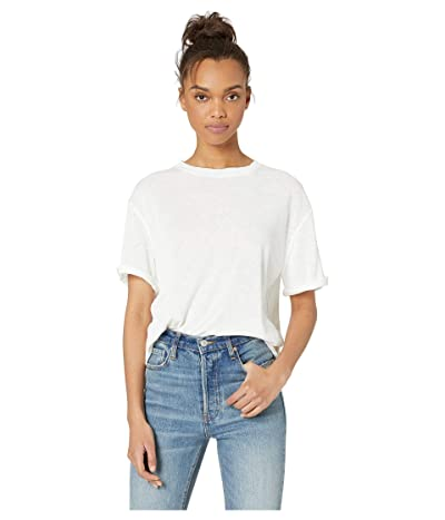 Free People Cassidy Tee (Ivory) Women