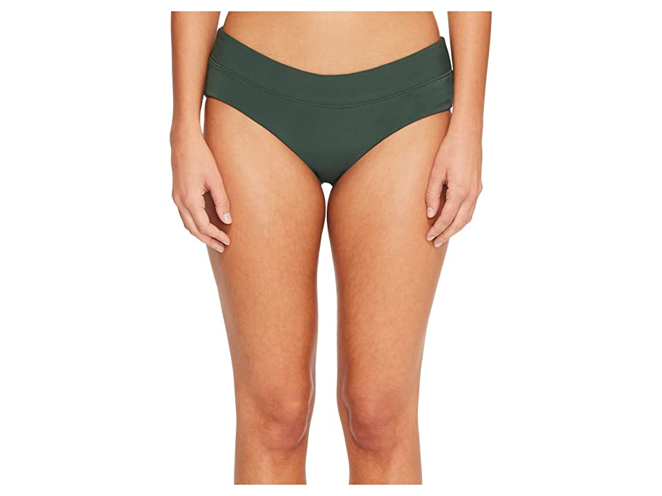 Robin Piccone Moana Hipster Bikini Bottom (Deep Forest Multi) Women