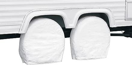 Classic Accessories OverDrive Standard RV & Trailer Wheel Cover, White, for 21
