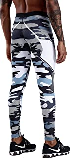 Men's Compression Dry Cool Sports Tights Pants Baselayer Running Leggings Yoga Sports Tights Pants