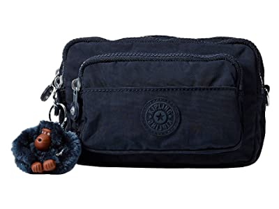 Kipling Multiple Belt Crossbody Bag (True Blue) Messenger Bags