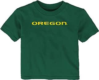 NCAA Oregon Ducks Infant Primary Logo Short Sleeve Tee, 12 Months, Hunter Green