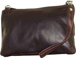 BagzDirect Genuine Leather Oilpullup Small Handbags for Women - Crossbody Bag for Women SEOP821