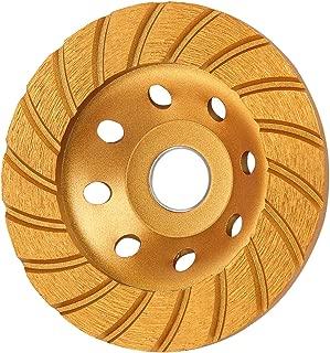 KSEIBI 644052 Super Turbo Diamond Cup wheel 4-1/2 Inch (115 mm)