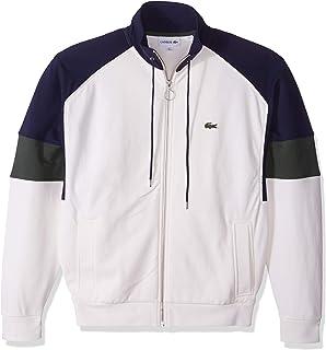 Lacoste Men's Long Sleeve Fleece with Full Zip and Pockets Sweatshirt
