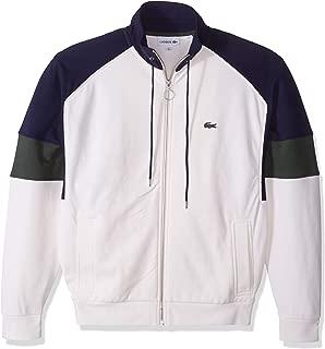 Men's Long Sleeve Fleece with Full Zip and Pockets Sweatshirt
