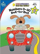 Numbers 0-30: Dot-to-Dot, Grades PK - K (Home Workbooks)