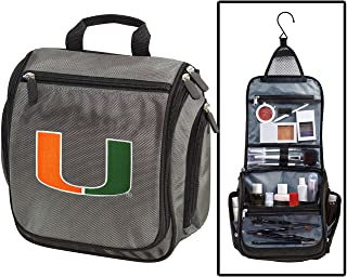 University of Miami Toiletry Bags or Mens Shaving Kits HANGABLE Travel Bag