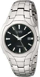 Men's Eco-Drive 38mm Titanium Bracelet Watch