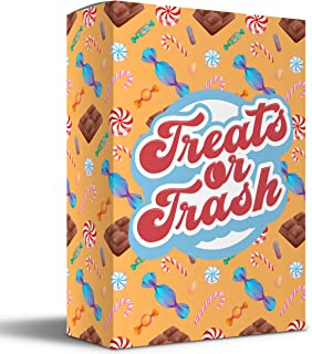 Treats or Trash - Engaging Card Game for Kids & Families. Super Fun and Extremely Easy to Learn! Get Those Treats and Try ...