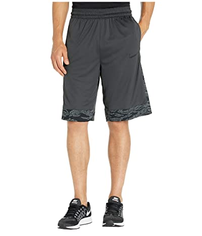 Nike Dry Courtlines Shorts Print (Anthracite/Black) Men