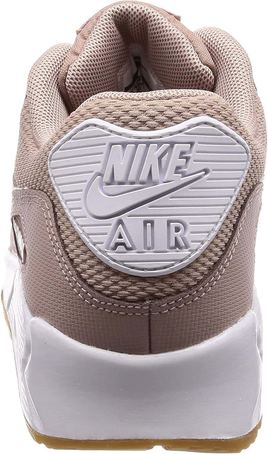 Nike Air Max 90, Scarpe Running Donna Multicolore Diffused Taupe White Gum Light Brown 210
