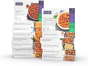 HMR Ultimate Entree Variety Pack, 14 Different Meals, 7-8oz. Servings, 14 Meals