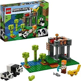 LEGO21158MinecraftHetpandaverblijfBouwsetmetAlexendierenfiguren,speelgoedvoorkinderenvan7jaarenouder