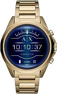 Armani Exchange Men's AXT2001 Smartwatch Digital Display Analog Quartz Gold Watch