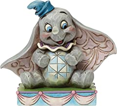 """Disney Traditions by Jim Shore Dumbo Personality Pose Stone Resin Figurine, 3.25"""""""