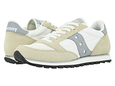 Saucony Originals Jazz Low Pro (White/Grey) Men