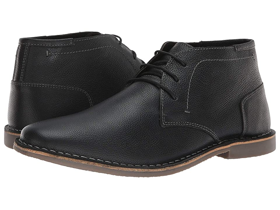 Steve Madden Harken (Black Embossed) Men