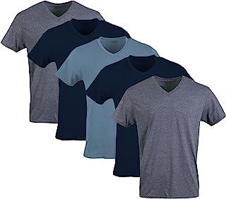 Gildan Camisetas con Cuello en V para Hombre, Multipack Ropa Interior para Hombre