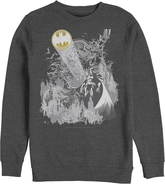 Men's 2021 autumn and winter new Batman Signal Spring new work in Sky The Sweatshirt