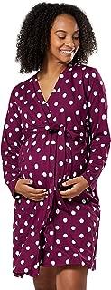 HAPPY MAMA Mujer Maternidad Pijama Raya Conjunto Ropa Noche Cuello Alto 690p