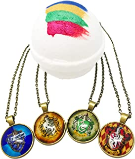 Wizard World Sorting House Bath Bomb with Surprise Pendant & Color