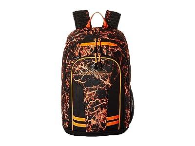 High Sierra Blaise Backpack (Fireball/Black/Electric Orange) Backpack Bags