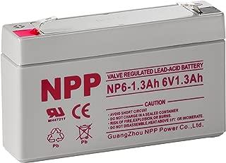 6v 1.3ah battery