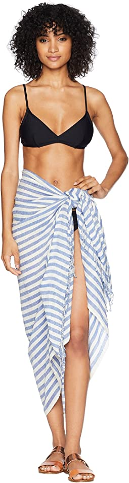 Vitamin A Swimwear Zarace Wrap Cover-Up
