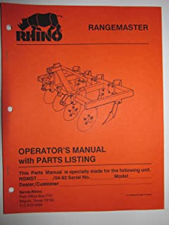 Best rhino parts catalog Reviews