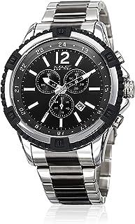 August Steiner - Watch - As8229Ttb_Black and Silver, Analog Display