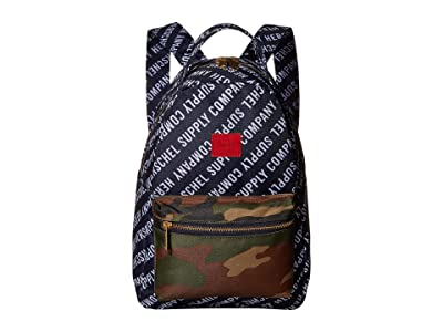 Herschel Supply Co. Nova Small (Roll Call Peacoat/Woodland Camo) Backpack Bags