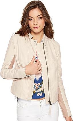 Cool & Clean Faux Suede Jacket