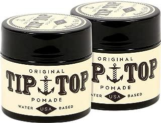 Tip Top Original Water Based Pomade 4.25oz (2-Pack)