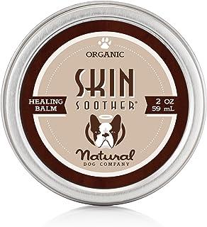 Natural Dog Company - Skin Soother | Organic, All-Natural Healing Balm - Treats Hot Spots, Bacterial Folliculitis, Dermatitis, Alopecia, Mange, Dry Flaky Skin