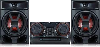 LG XBOOM 300W Hi-Fi Shelf System (CK43), Black