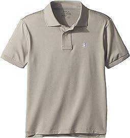 Polo Ralph Lauren Kids Performance Lisle Polo Shirt (Big Kids)
