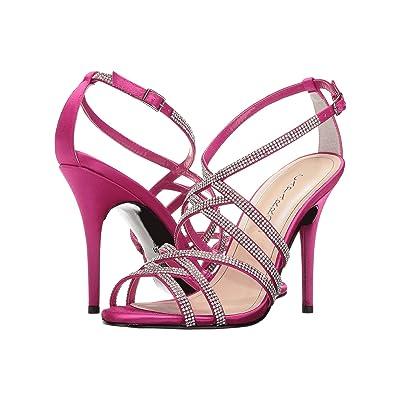 Caparros Fantasia (Magenta New Satin) High Heels